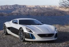 Rimac Concept One двухместный спортивный электромобиль на бер…