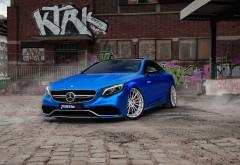 2017 Fostla Mercedes AMG S63 4matic тюнингованый автомобиль картинки