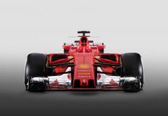 2017 Ferrari SF70H Formula 1 Car 4K обои гоночного автомобиля