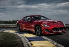 2017 Maserati GranTurismo GT Sport Special Edition обои красного автомобиля