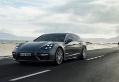 2017 Porsche Panamera Turbo Sport Turismo обои HD