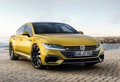 Купеобразный седан Volkswagen Arteon R-Line обои HD