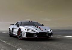 Lamborghini Huracan 2018 с итальянским дизайном обои 4K скачать