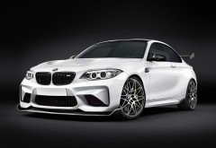 Alpha N Performance BMW M2 Coupe широкоформатные обои белого купе