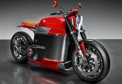 Tesla Model M Concept Electric Motorcycle футуристический мотоцикл обои H…