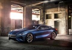 BMW Concept 8 Series 2018 концепткар обои HD