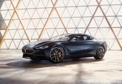 BMW, 8-Series, Concept, 2017, БМВ, 8-серии, концепт обои HD