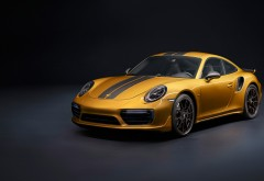 Porsche 911 Turbo S Exclusive Series (2017) обои 4K