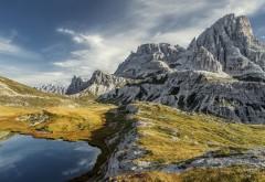 Горы, природа, горное озеро, скалы, небо, стоковые фото, …