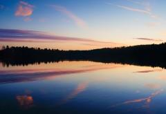 Отражение озера природа