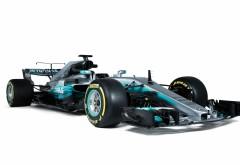 Mercedes AMG F1 W08 EQ Power гоночный автомобиль 4K обои