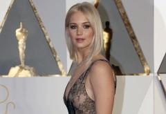 Дженнифер Лоуренс на вручении Оскар обои HD