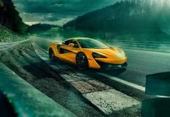 2018 McLaren 570S желтый родстер обои HD