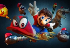 Super Mario Odyssey видеоигра из серии игр Марио обои HD