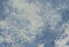 облачные круги фоны 4K обои