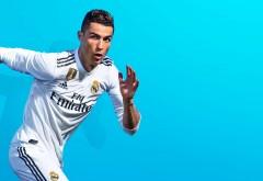 4К обои Криштиану Роналду в Реал Мадрид