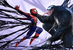 человек паук веном картинки