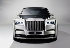 Обои 4K Rolls-Royce Phantom