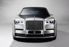 Обои 4K Rolls-Royce Phantom
