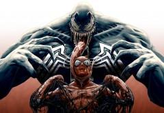 Веном против Человека паука картинки