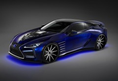 2017 Lexus LC Black Panther Special Edition обои HD