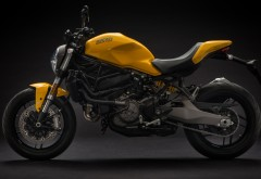 2018 Ducati Monster 821 обои 3840x2160 4K