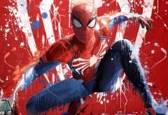 картинки, Человек паук, игра, #Spiderman, Spider-Man, ps4