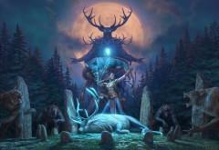 видеоигра, Wolfhunter, The Elder Scrolls Online's, обои hd, рога