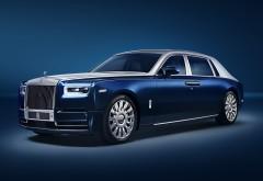Rolls-Royce Phantom EWB Chengdu 2018 4K обои