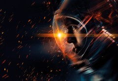 Человек на Луне, Ryan Gosling, Райан Гослинг, 4K обои