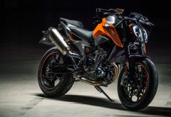 мотоцикл стритфайтер KTM 790 DUKE обои 4K