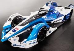 BMW iFE18 Formula E racer картинки