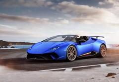 2018 Lamborghini Huracan Performante Spyder обои HD