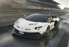 Lamborghini Aventador SVJ 63 обои HD