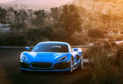 2018 Rimac C_Two California Edition обои HD