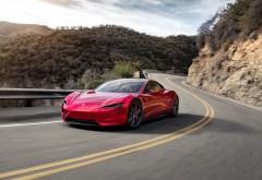Tesla Roadster обои HD