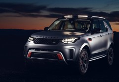 2018 Land Rover Discovery SVX обои 4K