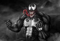 5120x2880, обои 5K, venom, #Venom, #Art, веном