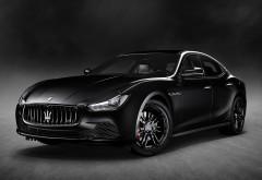 2018 Maserati Ghibli Nerissimo Black Edition обои 4K