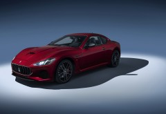 2018 Maserati GranTurismo обои 4K