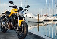 Ducati Monster 821 2018 обои 4K