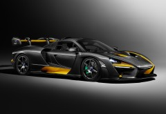 2018 McLaren Senna Carbon Theme by MSO 4K обои