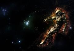 Гонщик в космосе картинки