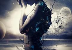 darkness, Даркнесс, девушка, луна, озеро, ночь, сумрак, картинки
