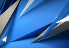 Синие абстрактные картинки