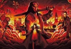 Хеллбой: Возрождение кровавой королевы 2019 обои HD