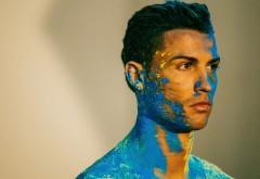 Криштиану Роналду в краске обои HD