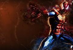 Человек паук картинки фанарт