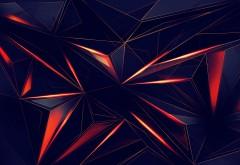 3D треугольник обои HD