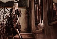Картинки Аврил Лавин вечернем платье